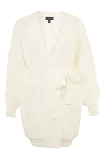 Topshop cardigan ribbed cardigan cardigan cream sweater