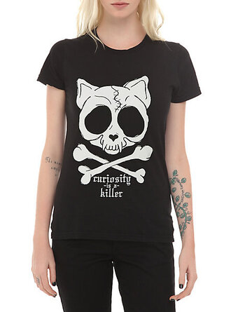 t-shirt black t-shirt skull t-shirt