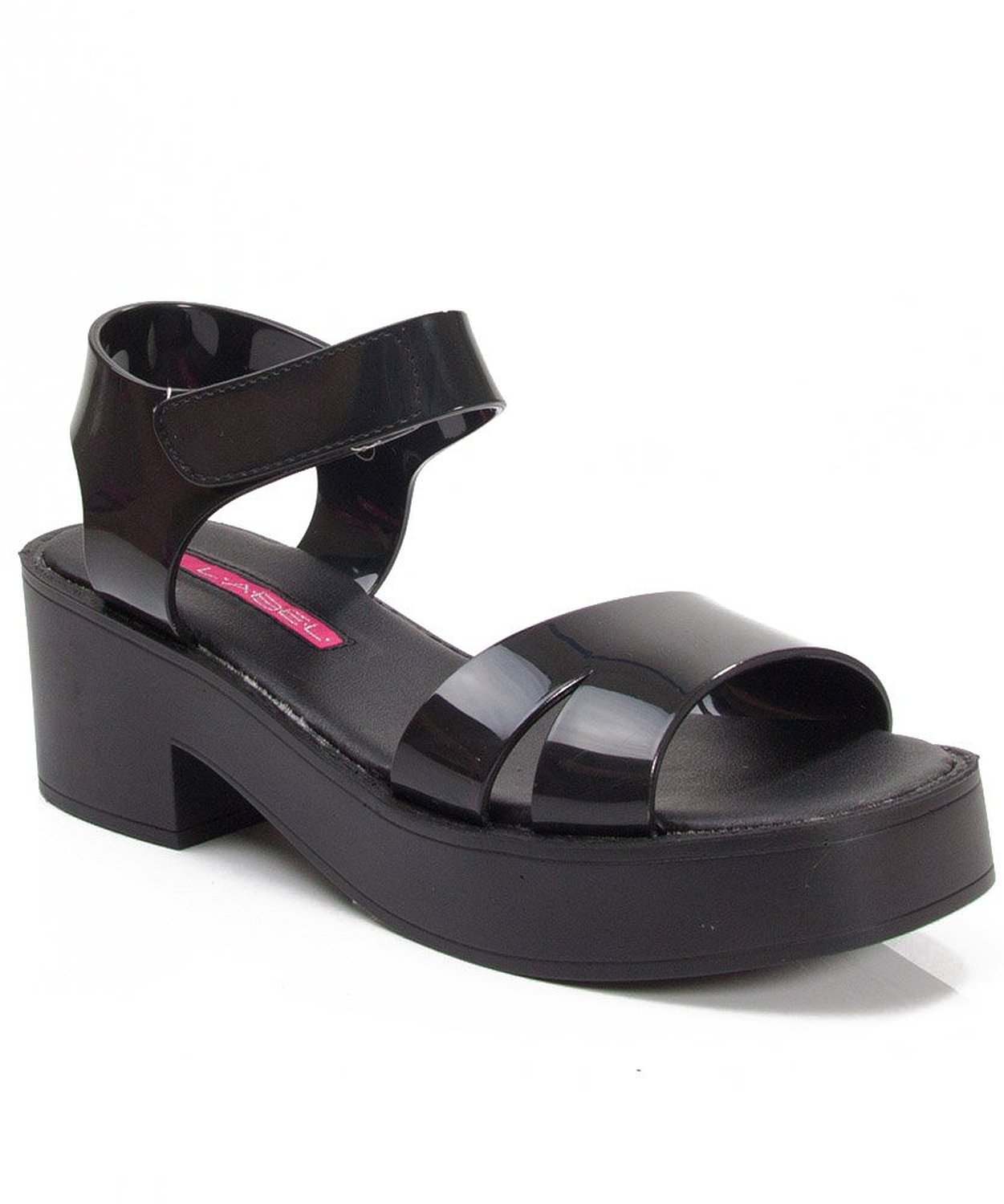 Amazon.com: Women's Fashion Jelly Sandals BLACK JELLY (8.5): Shoes