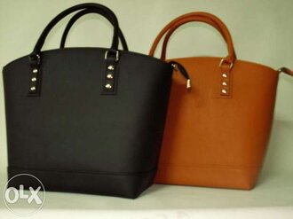 bag black accessories brown