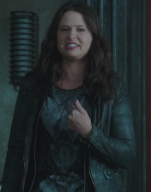 jacket katie lowes scandal leather jacket
