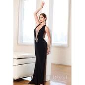 dress,terani couture,evening dress