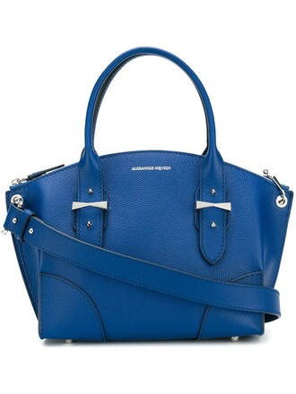 women blue bag