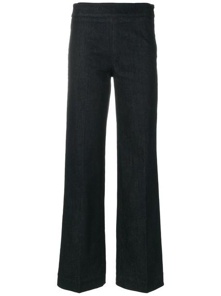 'S Max Mara women spandex cotton blue pants