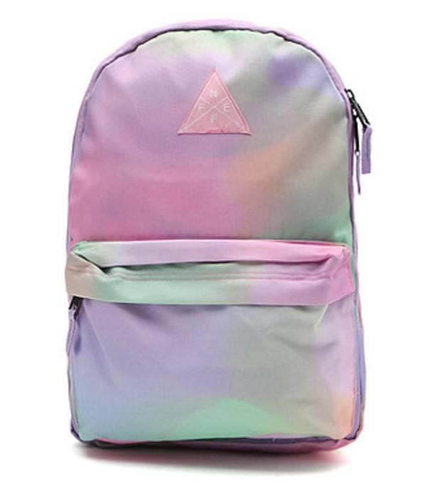 bag tie dye colorful backpack