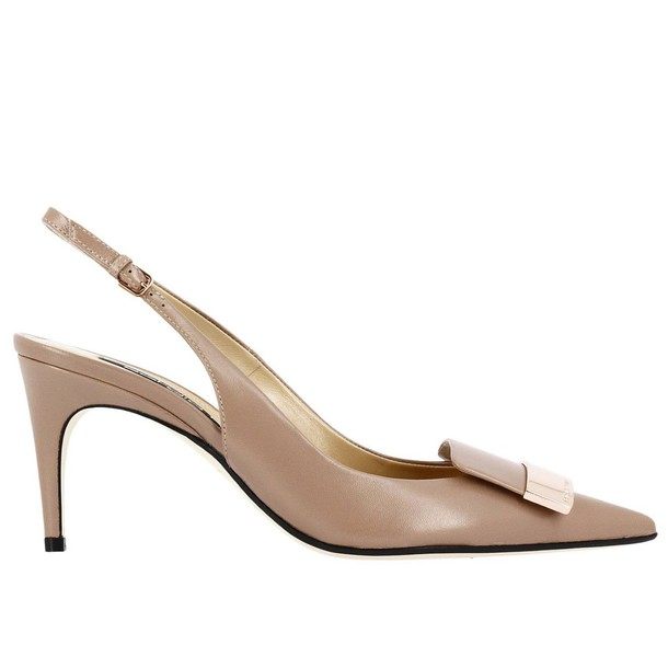 Sergio Rossi women shoes nude