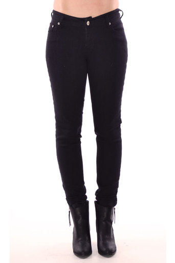 Womens Breena Zip Fasten Jeans In Black