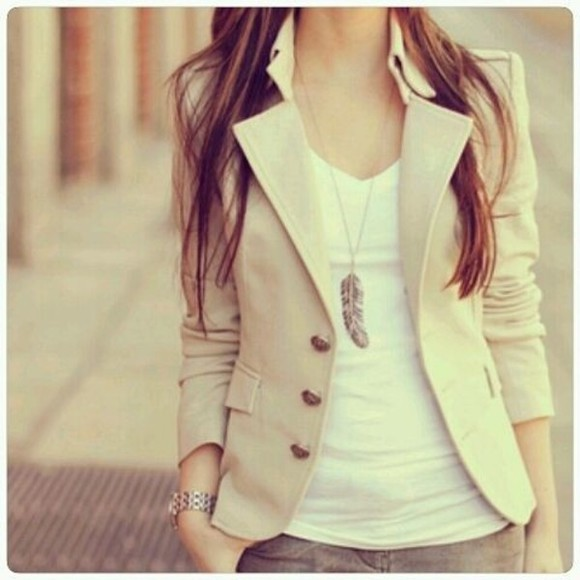jacket brown jacket casual spring, summer beige soft spring autumn summer jacket spring jacket knots