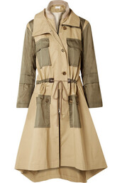 coat,trench coat,wool,green,army green