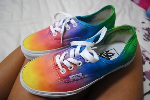 Rainbow Vans: Bad Girls Club