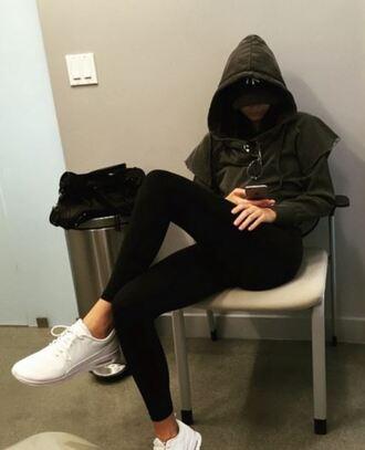 sneakers kendall jenner hoodie instagram sweater