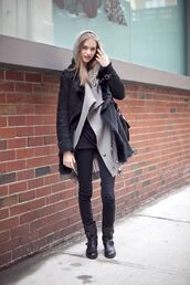 coat,black,suede,shearling