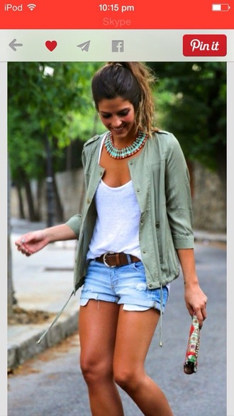 jacket army green jacket adorable outfit