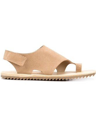sandals flat sandals nude shoes