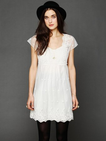 FREE PEOPLE GOLDEN SLUMBERS DRESS on The Hunt