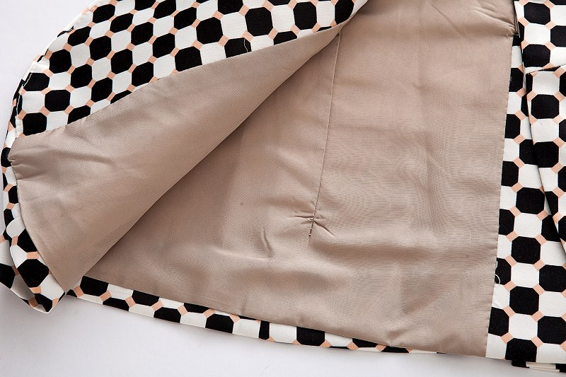Diamond Dots Short Blazer [FFBI0184] - PersunMall.com