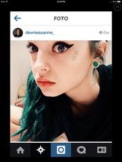 jewels,alien,grunge,sanne,earrings,green