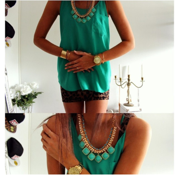 t-shirt jewels blouse