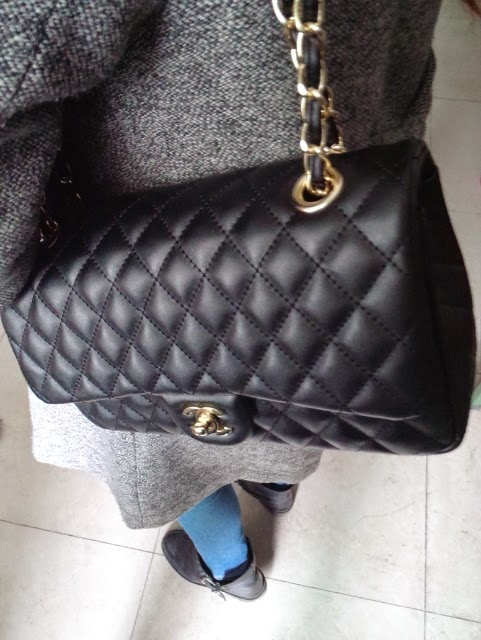 Barbie n dolly lens shop: quilted flap 2.55 classic leather luxury messenger handbag gold silver chain bag