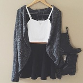 shirt,dress,top,white,white top,skirt,skater skirt,tumbr outfits,tumblr,cute