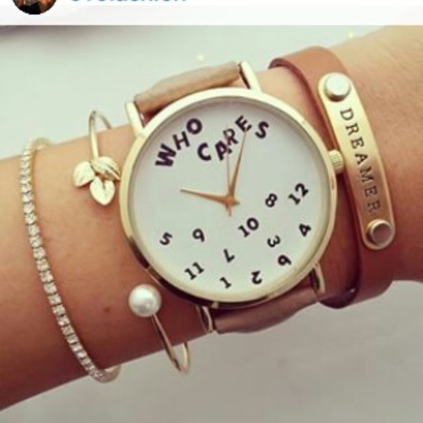 home accessory time brown watch cute