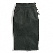 Coach :: LEATHER SEXY SKIRT