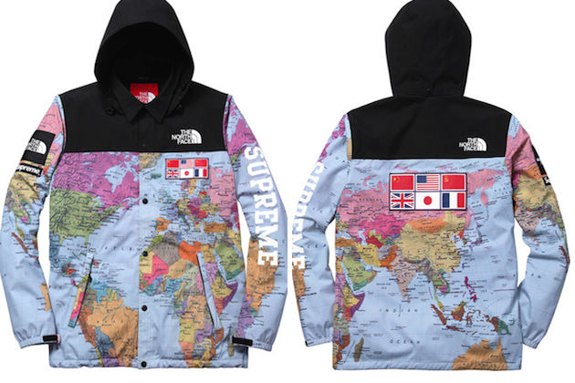 Supreme x North Face EXPEDITION COACHES JACKET MAP M L XL  : a9ivul i from wheretoget.it size 630 x 420 jpeg 65kB