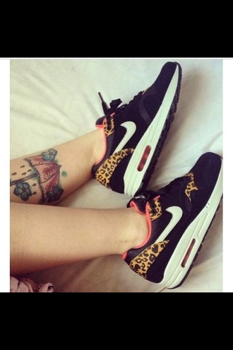 shoes nike nike shoes leopard print nike shoes with leopard print air max