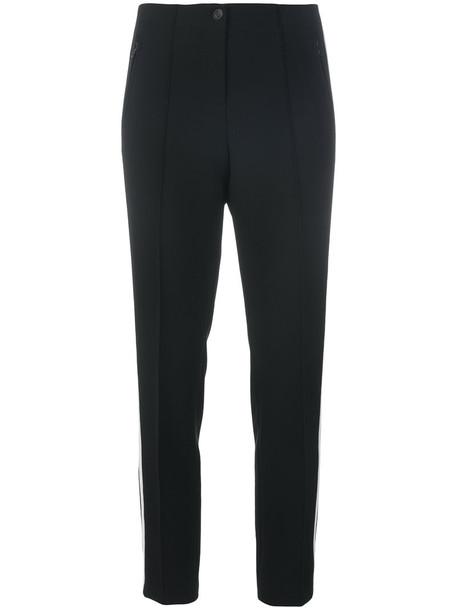 Cambio women spandex cotton black pants