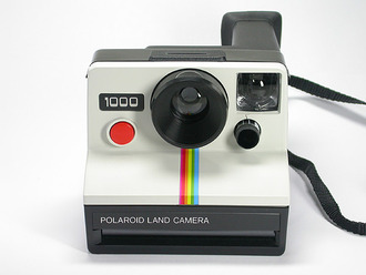 camera polaroid camera picture technology photography bag