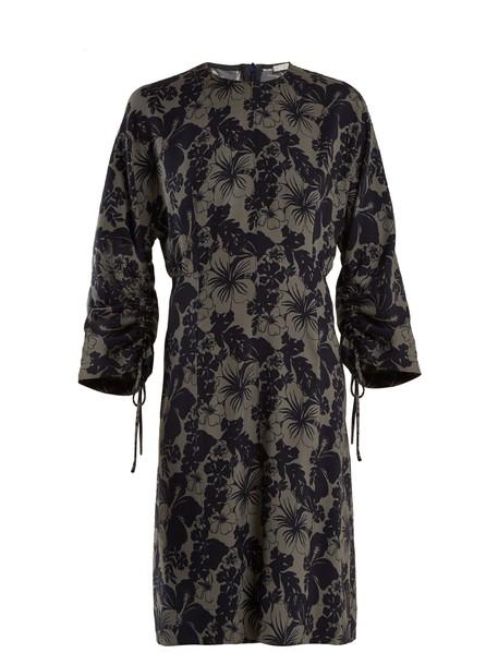 Stella McCartney dress print navy