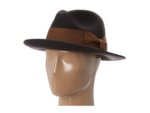 Brixton Woodrow Fedora Brown/Copper - Zappos.com Free Shipping BOTH Ways