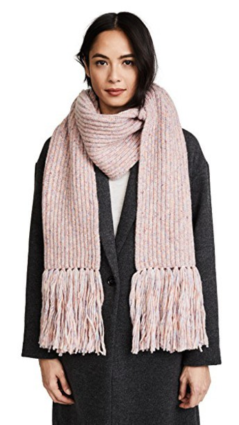 Rag & Bone scarf pink