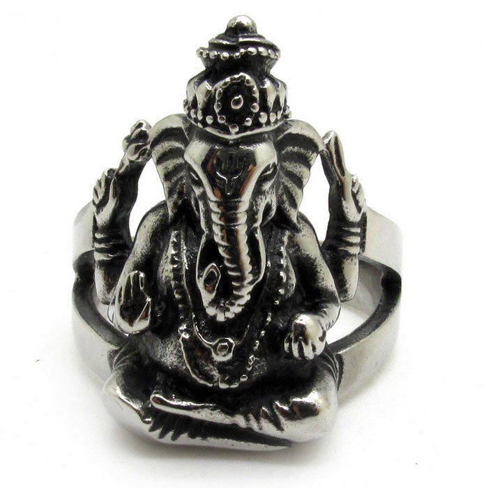 Ganesha ring by stazia