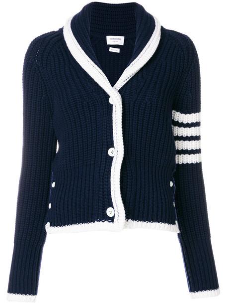 cardigan cardigan women blue wool knit sweater