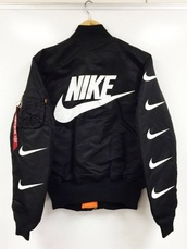jacket,nike air,nike jacket,coat,nike,jut do it,niek,find this,nike jacket bomber,nike pro,nik jacket,black,nike running shoes,nike bomber jacket,nike bomber jacket black,bombe,dope,black and white,kanye wes,nikie,love,shop,me,stylish,fashion,style,bomber jacket,tumblr,instagram,white and black nike windbreaker,tumblr clothes,black bomber jacket nike,burgundy nike jacket