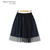 YESSTYLE: Black Queen- Tulle Overlaid Skirt - Free International Shipping on orders over $150