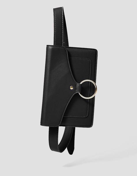 belt bag bag purse black