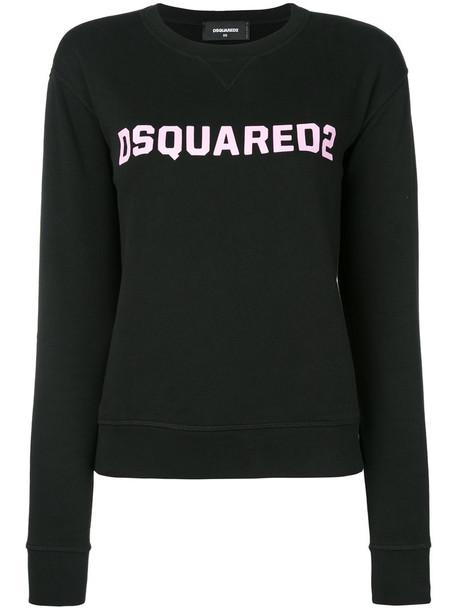 Dsquared2 sweatshirt women cotton black sweater