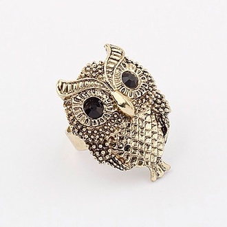 jewels ring owl ring owl
