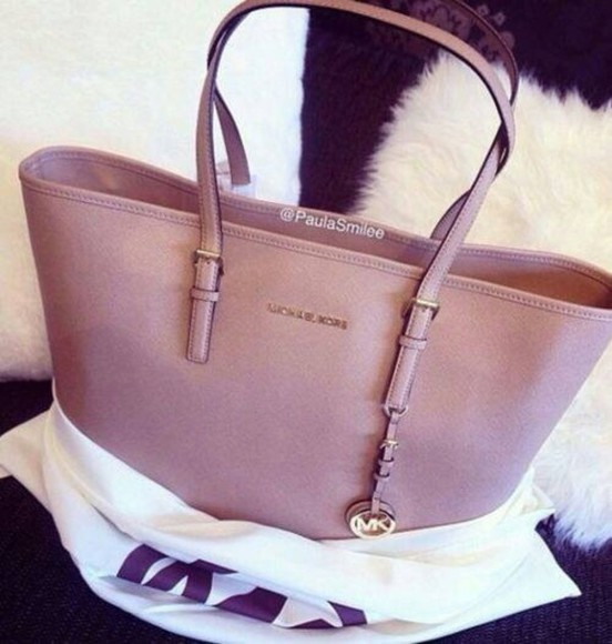bag michael kors mk brown bag