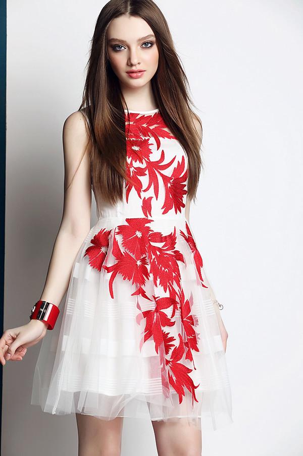 Dress Streetstyle Lace Top Wedding Dress Summer Dress Mini Dress
