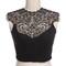 Joanie lace crop top