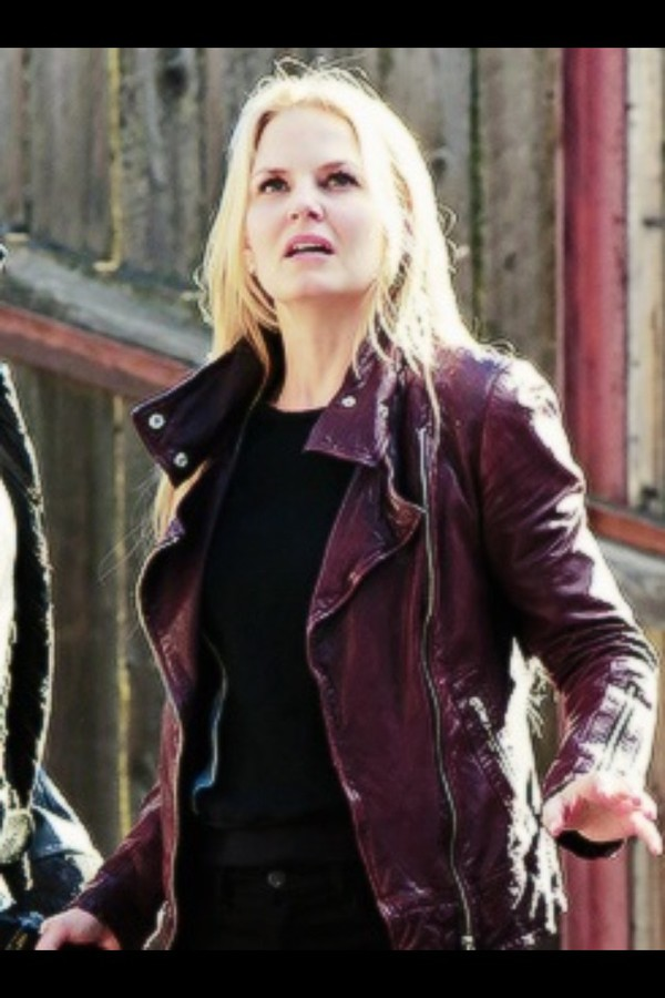 jacket one upon a time emma swan leather jacket