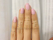 jewels,knuckle ring,gold midi rings,gold mid finger rings,above the knuckle ring