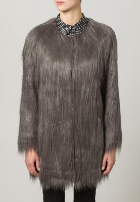 Unreal Fur Short coat - grey - Zalando.co.uk
