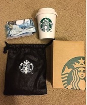 home accessory,starbucks portable charger