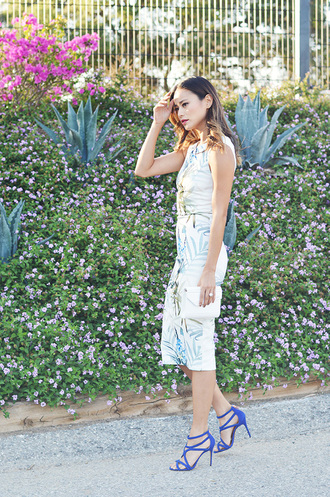 dress jamie chung sandals summer outfits midi dress summer dress shoes