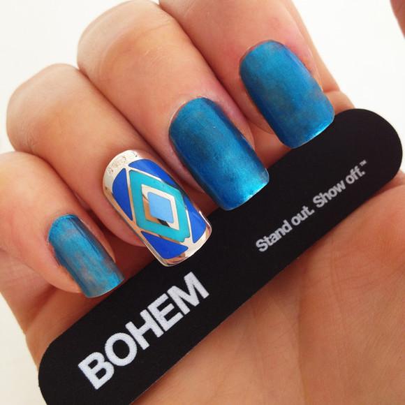blue jewels jewels nail jewellery nail jewels nail jewelry nail polish bohem bohem nails bohem jewellery silver nail silver nail polish blue jewellery blue jewelry accent nail diamonds