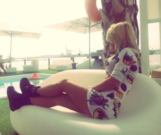style girly girl nicolhartman instagram print tumblr style tumblr outfit